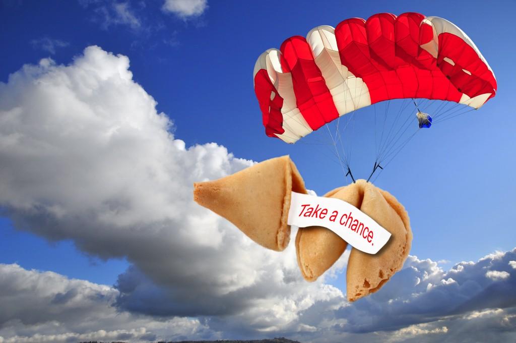 Take a chance parachute
