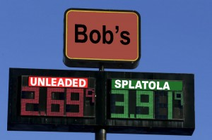 The price of diesel fuel is displayed on the sign at the Pilot truck stop just off Interstate 94 on Ryan Road, in Oak Creek on Wednesday, December 3, 2014. Photos for a story on the price of diesel fuel. - Photo by Mike De Sisti / MDESISTI@JOURNALSENTINEL.COM